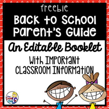 Back To School Parent's Guide for 1st -  5th Grade