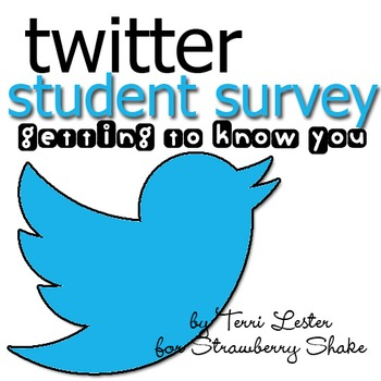 Back To School Student Twitter Style Survey - Tweeting to