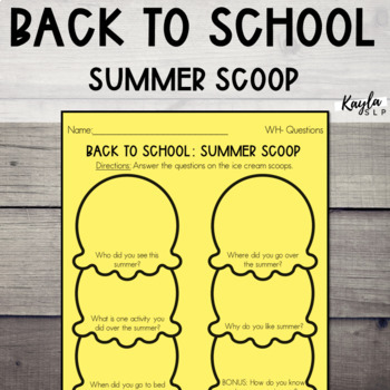 Back To School: Summer Scoop
