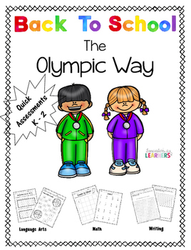 Back To School The Olympic Way