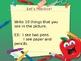 Back To School Vocabulary Powerpoint ESL/ELL Beginner
