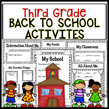 Third Grade Back To School Activities