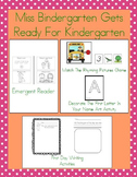 Back To School With Miss Bindergarten! Mini Pack