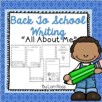 All-About-Me Writing {Back-to-School}