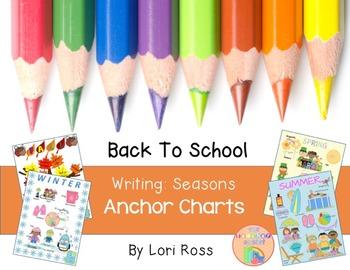 Anchor Charts {Seasons} Back to School Writing