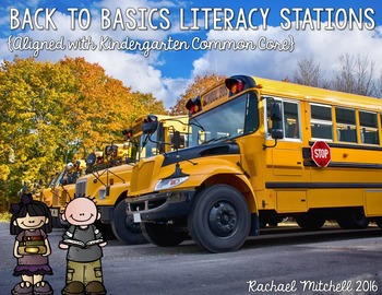 Back to Basics BUNDLE- Math & Literacy Activities for the