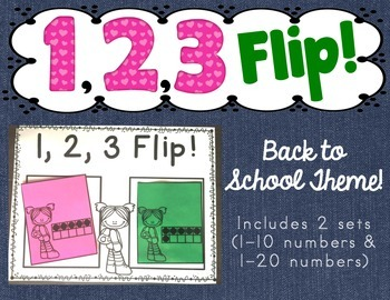 Back to School 1,2,3 FLIP Game!