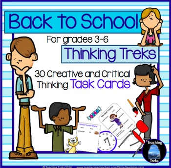 Back to School Ideas: First Week of School Activities for
