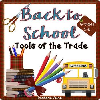 Back to School Teaching Tools