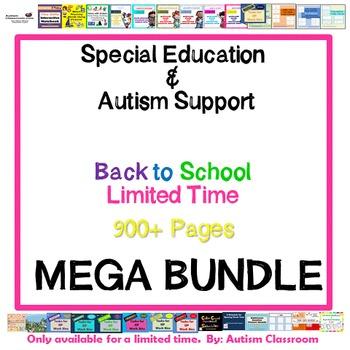 MEGA Bundle - Autism & Special Education Back to School Ki