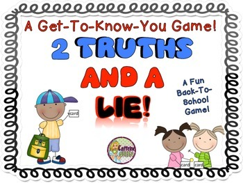 Back to School - Get to Know You Game!