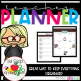 Back to School: 2015 - 2016 Ultimate Teacher Planner/Binde