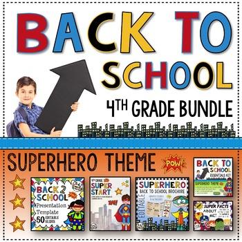 Back to School 4th Grade Bundle