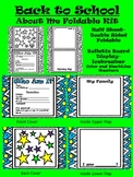 Back to School About Me Foldable Kit-Icebreaker Activity-B