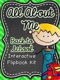 Back to School-About Me- Interactive Flipbook