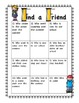 Back to School Activies for First Graders