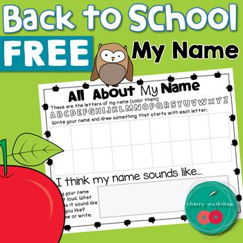 Back to School Activities FREE