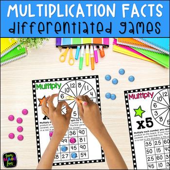 Multiplication Games No Prep