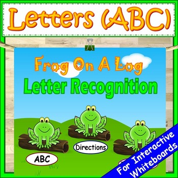 Alphabet Kindergarten PowerPoint Game