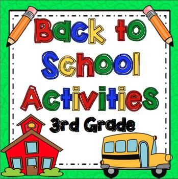Back to School: 3rd Grade