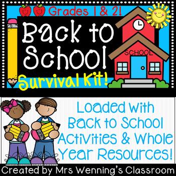 Back to School Activities Bundle!