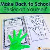Back to School Activities - Bundle