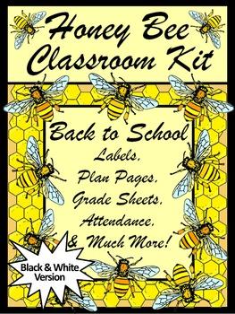 Back to School Activities: Honey Bee Classroom Kit & Lesso