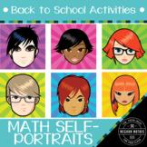 Back to School Activities - Math Self-Portraits