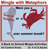 Back to School Six Activities: Mingle with Metaphors