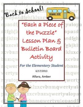 Back to School Activity ~ Community Builder Ice Breaker ~