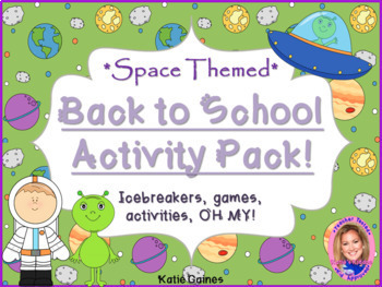 Back to School Activity Pack- SPACE THEMED