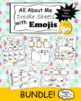Back to School Freebie - All About Me Emoji Sheets