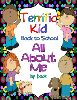 Back to School All About Me Lap Book (Terrific Kids) Commo