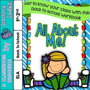 Back to School All About Me Workbook {UK Teaching Resource}