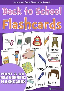 Back to School  Flashcards