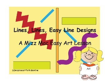 Easy Line Designs for Back to School