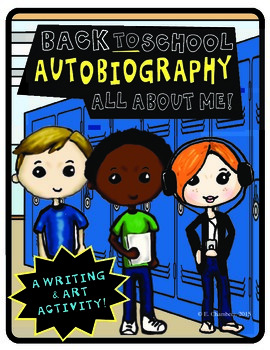 Back to School Autobiography All About Me Freebie