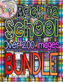 Back to School BUNDLE 200+ Clip Art Images! {From Sketch t