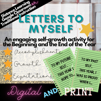 Back to School Beginning and End of Year Activity: Letters