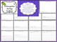Kindergarten Writing Portfolio Writing Prompts for the ENT