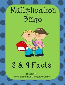 Back to School Bingo - Multiplication 11's and 12's Facts