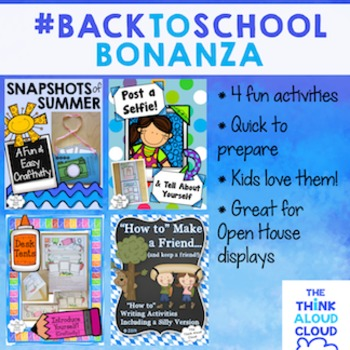 Back to School Bonanza! ~ A BUNDLE of Craftivities with Wr