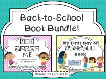 Back-to-School Book Bundle (All About Me & My First Day of