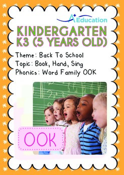 Back to School - Book, Hand, Sing (I): Word Family OOK - K