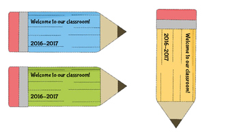 Back to School Bookmarks-Open House & Meet the Teacher