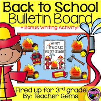 Back to School Bulletin Board Third Grade