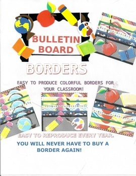 Back to School( or anytime) Bulletin Board Borders