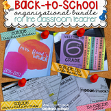 Back to School Bundle - Organization for Teachers