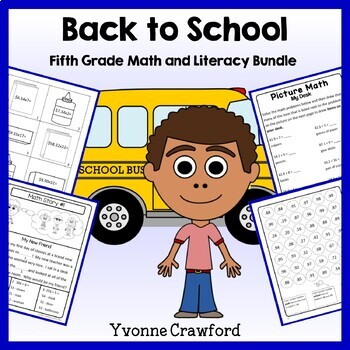Back to School Bundle for 5th grade Endless