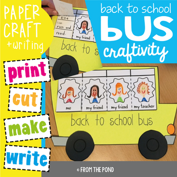 Back to School Bus Craftivity